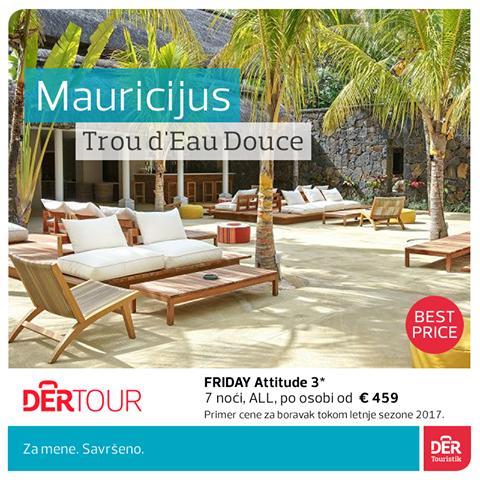 MAURICIJUS 8 DANA ALLINCLUSIVE OD 1375 EUR!