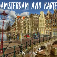 AMSTERDAM - POVRATNE AVIO KARTE OD 119 EUR!