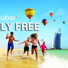 FLY DUBAI - KIDS FLY FREE! DECA PUTUJU BESPLATNO!