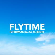 FLYTIME INFORMACIJA ZA KLIJENTE