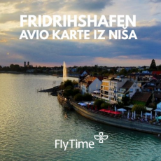 FRIDRIHSHAFEN - AVIO KARTE IZ NIŠA OD 29 EUR!