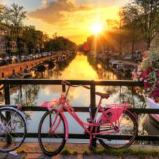 AMSTERDAM -  AVIO KARTE OD 60 EUR!