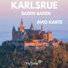 KARLSRUE - AVIO KARTE OD 10 EUR!