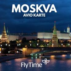 MOSKVA - AVIO KARTE OD 284 EUR!