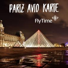 PARIZ - POVRATNE AVIO KARTE OD 169 EUR!