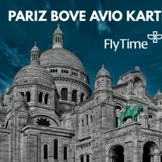 PARIZ / BOVE - AVIO KARTE OD 20 EUR!
