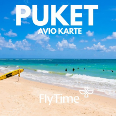PUKET - AVIO KARTE OD 488 EUR!