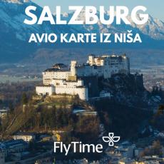 SALZBURG - AVIO KARTE IZ NIŠA OD 21 EUR!