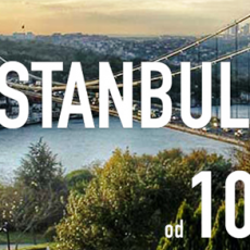 ISTANBUL: AVIO KARTE OD 109 EUR - TURKISH AIRLINES!