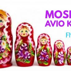 MOSKVA PROMO: AVIO KARTE OD 189 EUR!