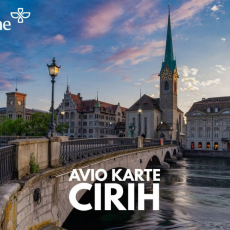 CIRIH: POVRATNE AVIO KARTE OD 109 EUR!