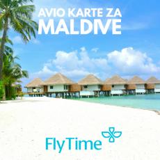 MALDIVI - POVRATNE AVIO KARTE OD 540 EUR!