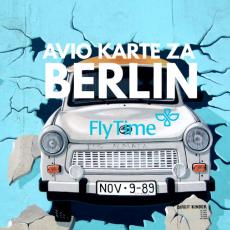BERLIN: POVRATNE AVIO KARTE OD 80 EUR!