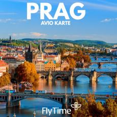 PRAG - POVRATNE AVIO KARTE OD 159 EUR!