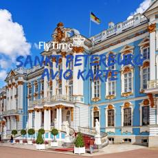 SANKT PETERBURG - DIREKTNO: PROMO AVIO KARTE OD 229 EUR!