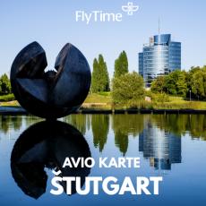 ŠTUTGART  - POVRATNE AVIO KARTE OD 119 EUR!