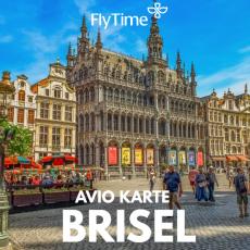 BRISEL - POVRATNE AVIO KARTE OD 109 EUR!