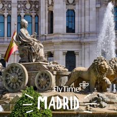 MADRID U JUNU: PAKET 4 DANA - AVIO I HOTEL OD 320 EUR!