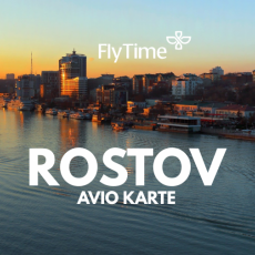 ROSTOV - AVIO KARTE OD 229 EUR!