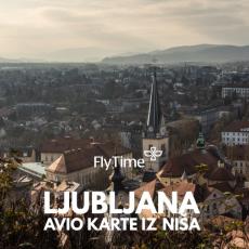 LJUBLJANA - AVIO KARTE IZ NIŠA OD 21 EUR!