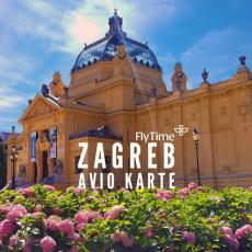 ZAGREB:AVIO KARTE OD 146 EUR!